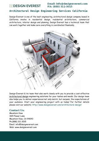 Architectural Design Plans California