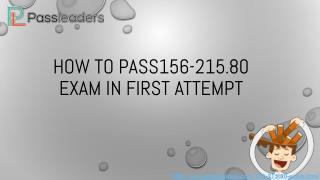 Passleaders 156-215.80 Practice Exam