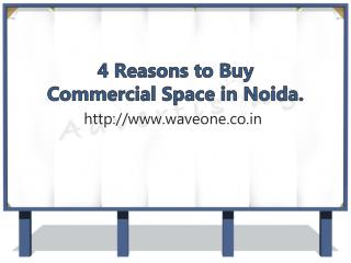 4 Reasons to Buy Commercial Space in Noida