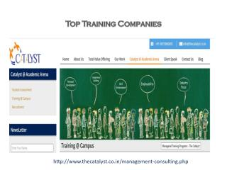 Top Training Companies