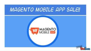 Magento Mobile App Sale 2016