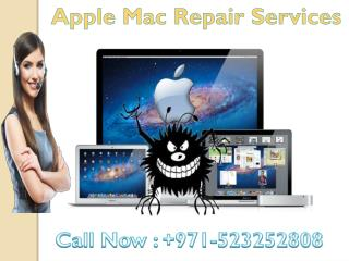 Apple Mac Repair Services in Dubai: 971-523252808