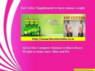 Fat Cutter Supplements