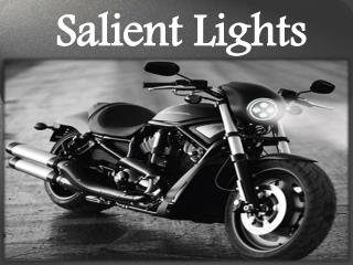 Led Projector Headlights for Motorcycle by Salient Lights