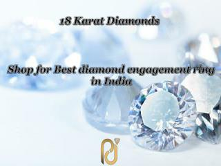 Shop for Best diamond engagement ring in India