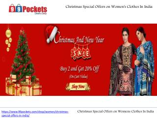 Christmas Special Offers on Womens Clothes In India