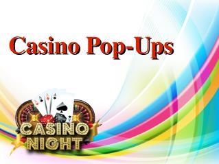 Casino Pop-Ups