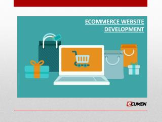 Best ecommerce website development services in Ahmedabad