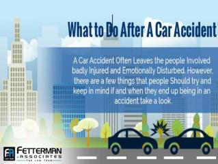 What to Do After a Car Accident in West Palm Beach?