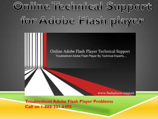 Adobe flash player technical support | Adobe Flash Not Working