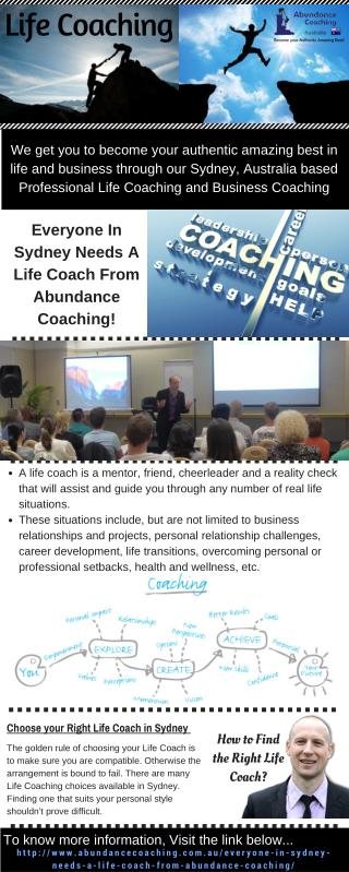 Know about the Need of a Life Coach in Sydney