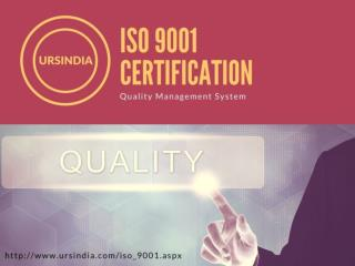ISO 9001 Certification quality management guidelines