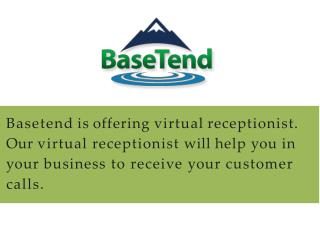 Affordable virtual receptionist service - Basetend