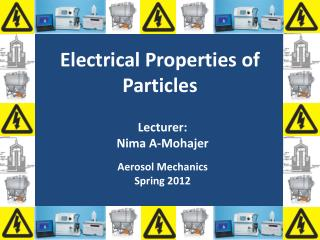 Electrical Properties of Particles