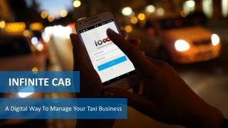 Infinite Cab Taxi Dispatch Software and Mobile App