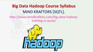 Big Data Hadoop Training Institute in Pune - Mindkraftors