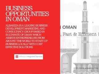 Business Opportunities in Oman