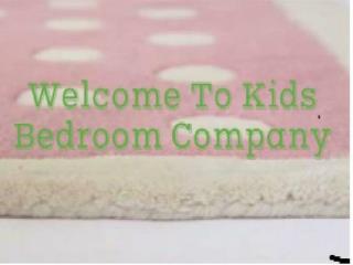 Bedroom Furniture for Kids