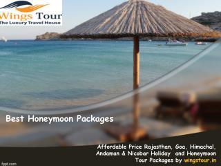 Best honeymoon packages