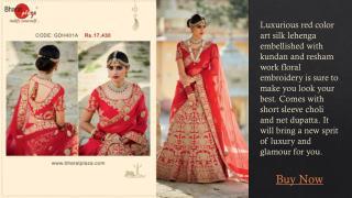 Latest Wedding Lehenga -  Online Clothing Store
