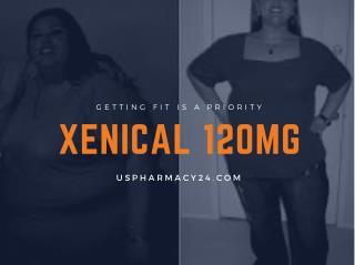 Buy Xenical 120 or 60 mg pills For weight Loss