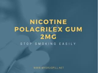 Buy Nicotine Polacrilex Gum 2mg Online