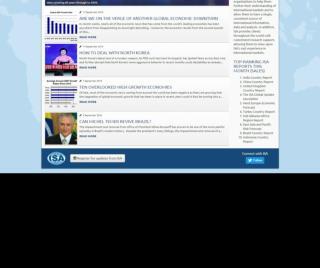 International Political & Economic Risk Forecasts