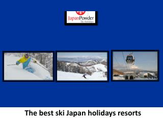 Find Ski Resorts Japan