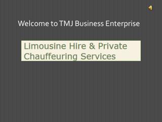 tmj limousine hire
