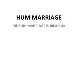 Hum Marriage