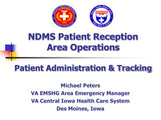 NDMS Patient Reception Area Operations  Patient Administration  Tracking