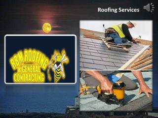 Morristown Roofing Contractor- Rbm Roofing