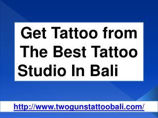 Tattoo In Bali