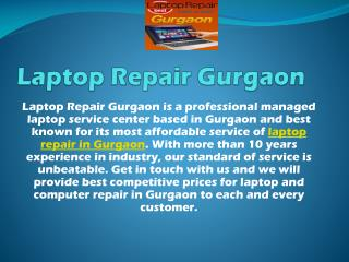 Laptop Repair in Gurgaon, Laptop Service Center Gurgaon