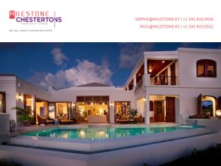 Require Bespoke Property Management Services in Cayman? Read Further
