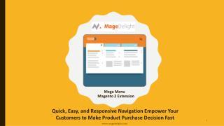 Mega Menu Magento 2 Extension with Layered Navigation
