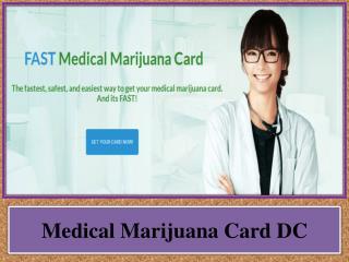 Medical Marijuana Card DC