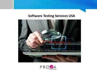 Software Testing Services USA