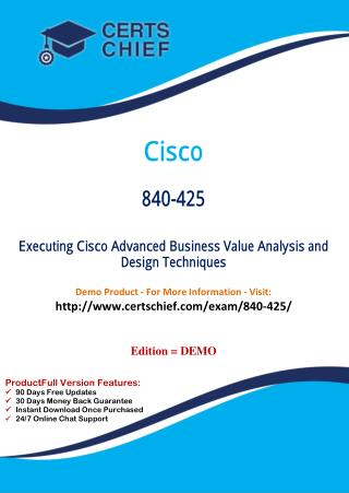 840-425 Certification Study Guide