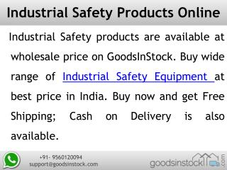 Industrial safety products, safety equipments