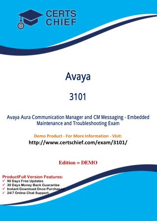 3101 Certification Study Guide