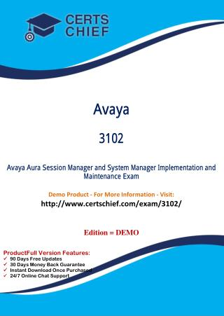 3102 Certification Study Guide