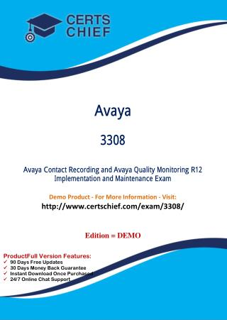 3308 Certification Study Guide