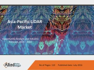 Asia-Pacific LiDAR Market, Size & System Components 2022