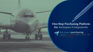 Aviation hardware Sourcing Platform, Aerospace Purchasing