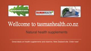 tasmanhealth.co.nz | NOW Calcium Magnesium Powder