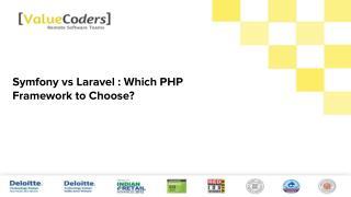 Symfony vs laravel   which php framework to choose-