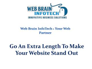 Go An Extra Length To Make Your Website Stand Out