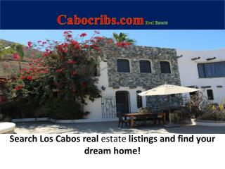 Cabocribs.com Real Estate (True MLS Properties0