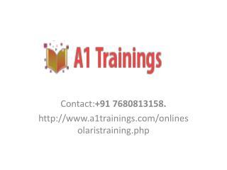 Online Solaris Admin Training -course content